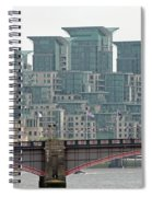 View From Westminster Bridge Spiral Notebook
