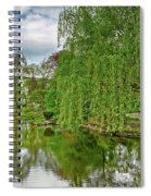 View Of A Botanical Garden, Krakow Spiral Notebook