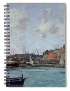 View Of Antibes Spiral Notebook
