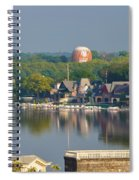 View Of Boathouse Row  Spiral Notebook
