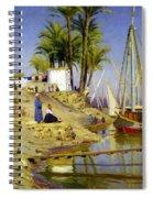 View Of Cairo Spiral Notebook