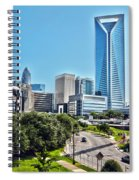 view of Charlotte North Carolina Spiral Notebook