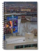 View Of Cincinnati Spiral Notebook