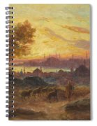 View Of Constantinople Spiral Notebook