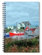 View Of Cove Spiral Notebook