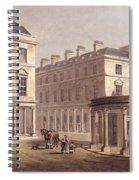 View Of Cross Bath, Bath Street Spiral Notebook