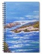 View Of Eden Australia Spiral Notebook