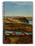 View Of Fort Snelling Spiral Notebook