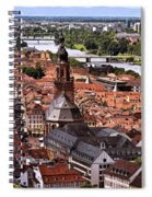 View Of Heidelberg Spiral Notebook
