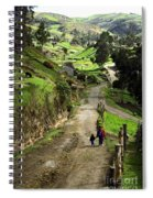 View Of Lupaxi Spiral Notebook