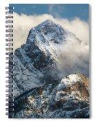 View Of Mount Sneffels And San Juan Spiral Notebook