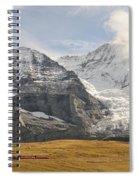 View Of Mt Eiger And Mt Monch, Kleine Spiral Notebook