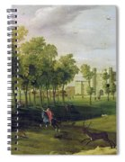 View Of Nonsuch Palace In The Time Spiral Notebook