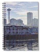 View Of Pier 70 Spiral Notebook