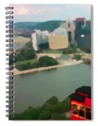 View Of Pittsburgh From Mt. Washington Spiral Notebook