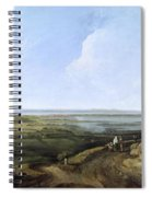 View Of Portsmouth From Portsdown Hill Spiral Notebook