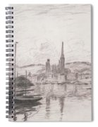 View Of Rouen Spiral Notebook