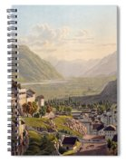 View Of Sion, Illustration From Voyage Spiral Notebook