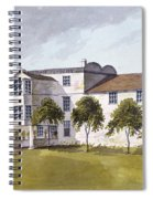 View Of Sir Noel De Carons House, 1809 Wc On Paper Spiral Notebook
