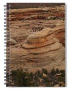 View Of The Canyon Spiral Notebook