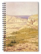 View Of The Island Of Rhodes Spiral Notebook