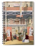 View Of The Italy Section Of The Great Spiral Notebook