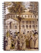 View Of The Jubilee Ball, Ranelagh Spiral Notebook