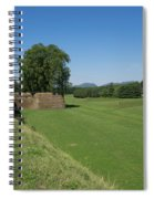 View Of The Piattaforma San Frediano Spiral Notebook