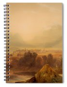 View Of Thebes Spiral Notebook