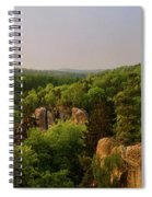 View Of Trosky Castle In A Village Spiral Notebook