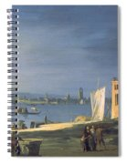 View Of Venice Spiral Notebook