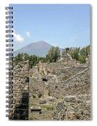 View Of Vesuvius Spiral Notebook