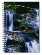 View Of Waterfall, Inversnaid Falls Spiral Notebook