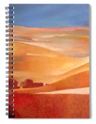 View Oil On Canvas Spiral Notebook