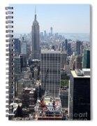 View Over Manhattan I Spiral Notebook