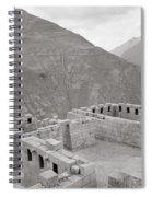 Landscape Of Pisac Spiral Notebook