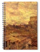 View Over Siena And San Domenico Spiral Notebook
