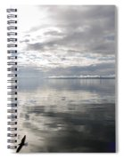 View Over The Ushuaia Bay In Tierra Del Fuego Spiral Notebook