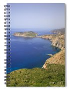 View Over To Assos Spiral Notebook