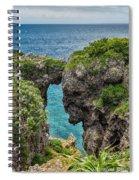 View Through The Crack  Spiral Notebook
