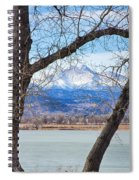 View Through The Trees To Longs Peak Spiral Notebook