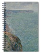 View To The Sea From The Cliffs Spiral Notebook