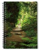 View To The Secret Garden Spiral Notebook