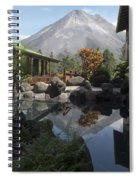 Viewing Arenal Volcano Spiral Notebook