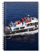 Views From Santorinia Greece Spiral Notebook