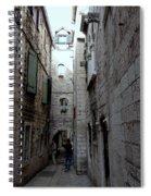 Views From Split Croatia Spiral Notebook