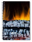 Views From The Fireplace Spiral Notebook