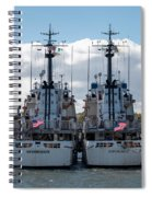 Vigorous And Dependable Spiral Notebook