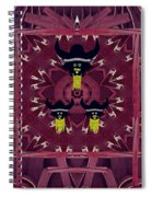 Vikings  And Leather Pop Art Spiral Notebook
