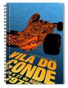 Vila Do Conde Portugal 1972 Grand Prix Spiral Notebook